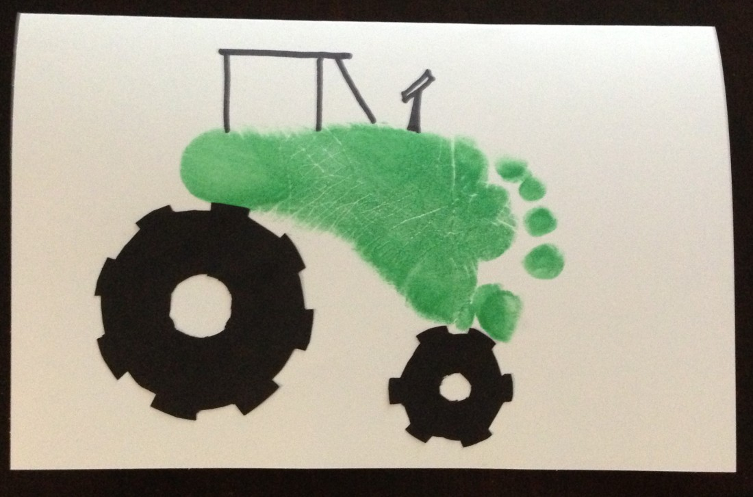 tractor foot